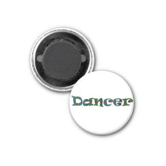 Scottish Dancer 1 Inch Round Magnet