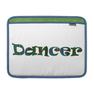 Scottish Dancer double-sided MacBook Sleeves