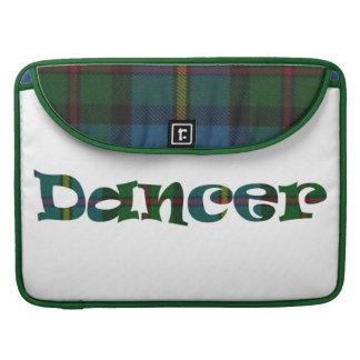Scottish Dancer double-sided Sleeves For MacBook Pro