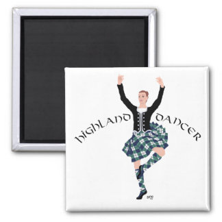 Scottish Dancer Highland Fling Magnet