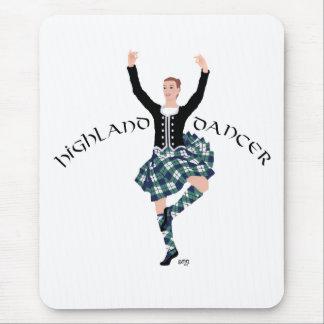 Scottish Dancer Highland Fling Mouse Pad