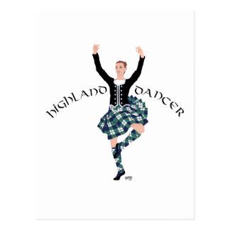 Scottish Dancer Highland Fling Postcard