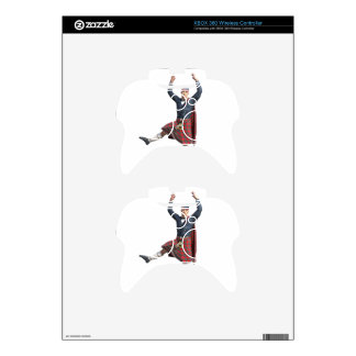 Scottish Dancer Leaping Xbox 360 Controller Skins