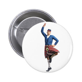 Scottish Dancer with Right Hand Up Button