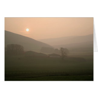 Scottish Dawn Greeting Card