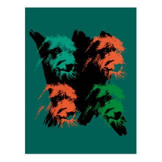 Scottish deerhound: Aerosol Postcard