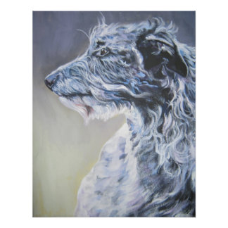 Scottish Deerhound Art Print