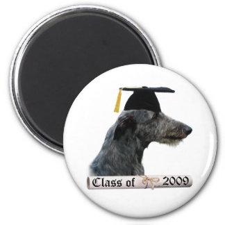 Scottish Deerhound Grad 09 Fridge Magnet