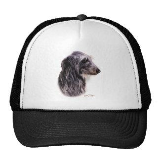 Scottish Deerhound Trucker Hat