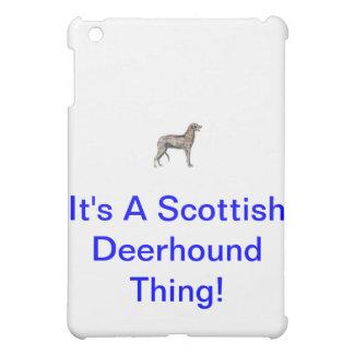 Scottish Deerhound iPad Mini Case