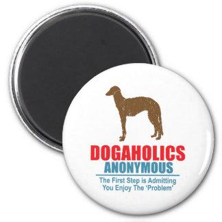 Scottish Deerhound 2 Inch Round Magnet