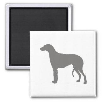 scottish deerhound silo color.png 2 inch square magnet