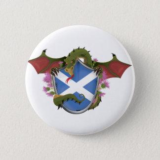Scottish Dragon Button