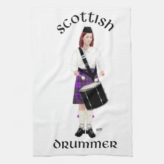 Scottish Drummer - Purple Kilt Towel