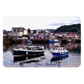 Scottish Fishing Village, Fridge Magnet