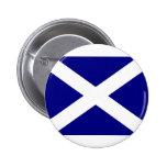 Scottish Flag clothing 2 Inch Round Button