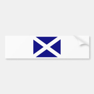 Scottish Flag clothing Bumper Sticker