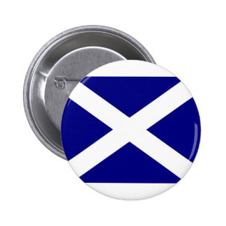 Scottish Flag clothing Button