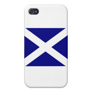 Scottish Flag clothing iPhone 4 Case