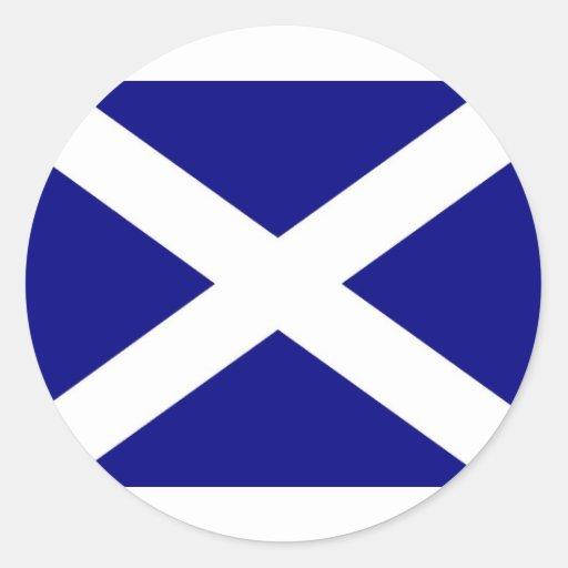 Scottish Flag clothing Stickers