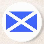 Scottish Flag Drink Coaster