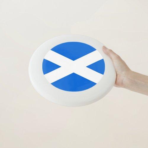 Scottish Flag Frisbee