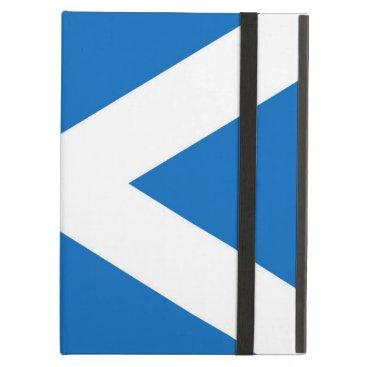 Scottish flag iPad Air case
