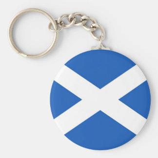 Scottish Flag Keychain