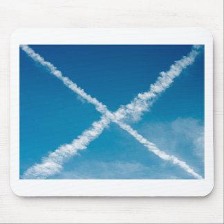 Scottish Flag Mouse Pad