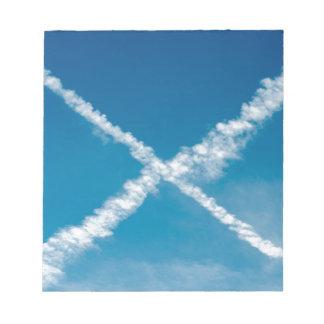 Scottish Flag Note Pad