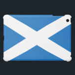 """Scottish Flag of Scotland Saint Andrew's Cross Case For The iPad Mini<br><div class=""""desc"""">Scottish Flag of Scotland Saint Andrew's Cross Saltire: The national flag of Scotland. The cross or saltire shape is based on the x-shaped cross on which the Christian apostle and patron saint of Scotland, Saint Adrew, was crucified. The blue cross design is also now a key component on the Union...</div>"""