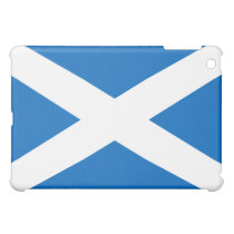 Scottish Flag of Scotland Saint Andrew's Cross Case For The iPad Mini