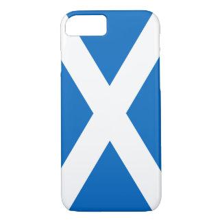 Scottish Flag of Scotland Saint Andrew's Cross iPhone 8/7 Case