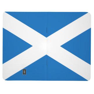Scottish Flag of Scotland Saint Andrew's Cross Journal