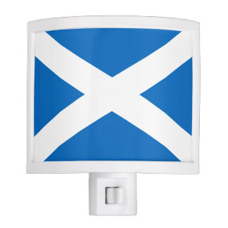 Scottish Flag of Scotland Saint Andrew's Cross Night Light
