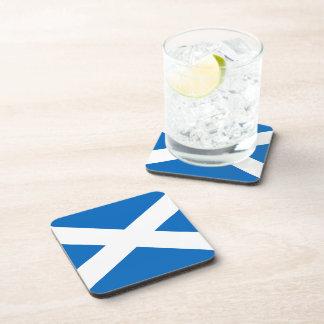 Scottish Flag of Scotland Saint Andrew's Cross Sal Drink Coaster