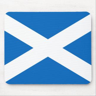 Scottish Flag of Scotland Saint Andrew's Cross Sal Mousepad