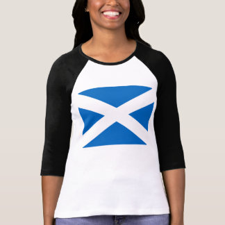 Scottish Flag of Scotland Saint Andrew's Cross T-Shirt