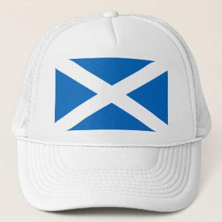 Scottish Flag of Scotland Saint Andrew's Cross Trucker Hat