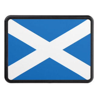 Scottish Flag of Scotland Saint Andrew's Saltire Trailer Hitch Cover