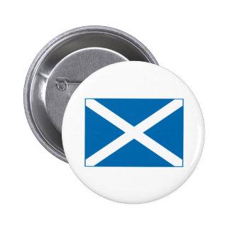 Scottish Flag Pinback Buttons
