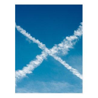 Scottish Flag Postcard