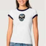 Scottish Flag Skull Tee Shirt