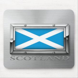 Scottish Flag (Steel) Mousepad