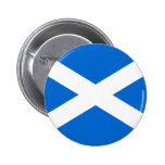 Scottish Flag T-shirts and Gifts Button