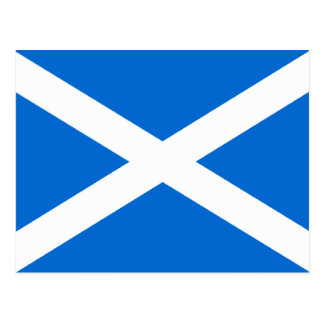 Scottish Flag T-shirts and Gifts Postcard