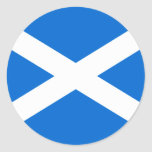 Scottish Flag T-shirts and Gifts Stickers