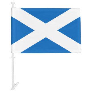 Scottish flag car flag