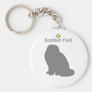 Scottish Fold g5 Keychain