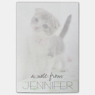 Scottish Fold Kitten Post-it Notes